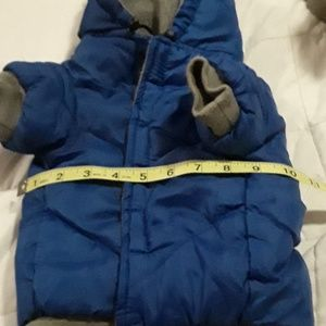 Other - Chihuahua puffer coat. Velcro